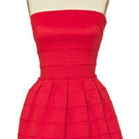 Saint Tropez Red Dress
