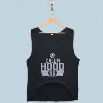 Women's Crop Tank - Calum Hood 5 Seconds of Summer