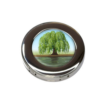 Old Weeping Willow Tree Purse Hanger