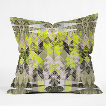Pattern State Arrow Neo Throw Pillow