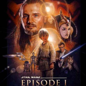 Star Wars Episode I Phantom Menace Poster 11x17