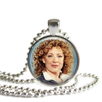River Song Doctor Who Necklace