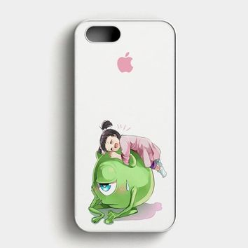 Monster Inc Cute Mike And Boo iPhone SE Case