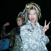 Karlis Kloss Marc Jacobs Fashion Show Custom Wool Dreads Handmade Karlie Kloss Set  Hair Extensions  Set of 45