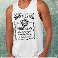 Supernatural The Winchesters Brothers Clothing Tank Top For Mens