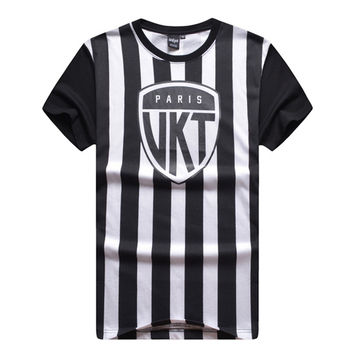 Hip hop t shirt Fashion Casual Brand Cotton unkut Harajuku Man last kings t-shirts Brand Men t-shirt sport LK skate dgk