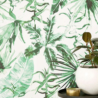 Expressive Palms Removable Wallpaper | Urban Outfitters