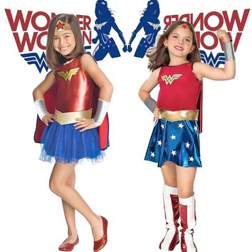 Child's Wonder Woman Costume