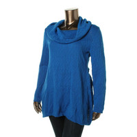 Style & Co. Womens Knit Cowl Neck Tunic Sweater