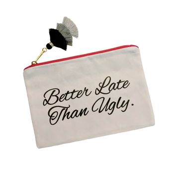 BETTER LATE MAKEUP BAG