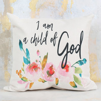 Child of God Pillow - Gifts/Home Decor