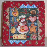 Kitchenaid Mixer Cover - Christmas Baking