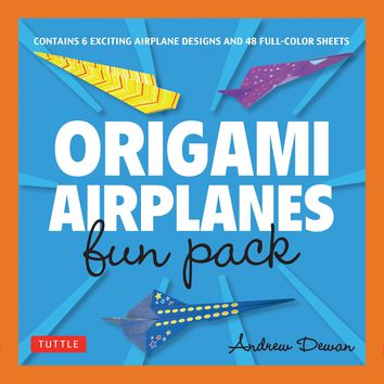 Origami Airplanes Fun Pack BOX NOV