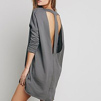 Free People Womens Lake Date Pullover Dress