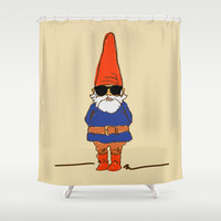 JerGnome Shower Curtain by Zany Du Designs