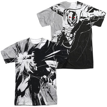 Batman V Superman Graphic Contrast Sublimated Mens T-Shirt