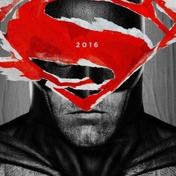 DCCKIX3 Batman v Superman: Dawn of Justice (2016) -  Movie POSTER - print on silk Wall Art Home Decoration  24x36 inch B1