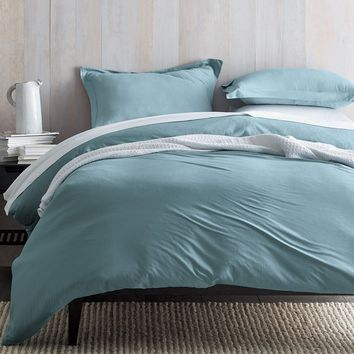 Organic Cotton Jersey Duvet Cover / Sham