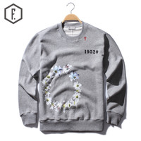 Men's Fashion Winter Cross Rack Long Sleeve Hoodie [8822201859]