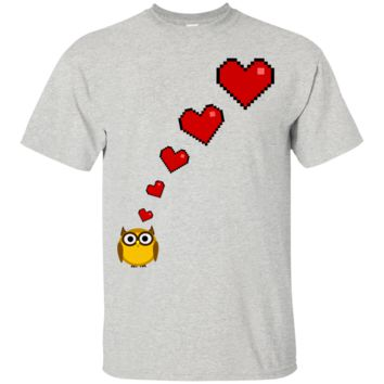 owl's big fat fluffy thoughts T-Shirt