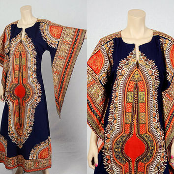 Shop Dashiki Dress On Wanelo