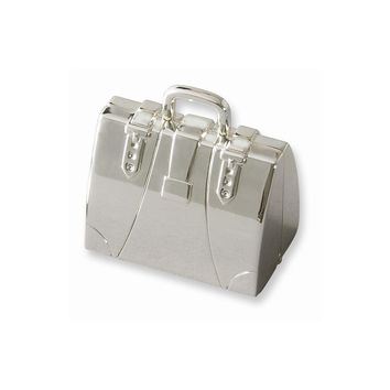 Nickel-plated Doctor Case Pill Box