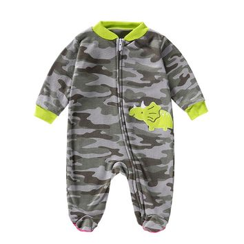 Spring Newborn Kids Baby Boys Girls Camouflage Cotton Jumsuit romper for 3 month Baby Clothes quality guarantee