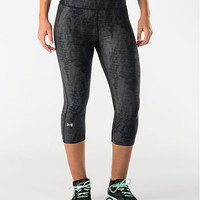 Women's Under Armour HeatGear Alpha Printed Capris