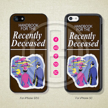 Handbook for the Recently Deceased, Phone Cases, iPhone 5S Case, iPhone 5 Case, iPhone 5C Case, iPhone 4 case, iPhone 4S case --812