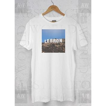 Lebron James Hollywood James LA Los Angeles LA Lakers Graphic Tee Unisex T Shirt