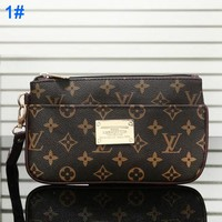 Louis Vuitton Wallet handbag LV Fashion Leather Clutch Bag Tote Handbag Satchel Monogram