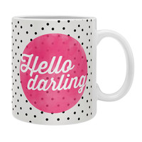 Allyson Johnson Hello Darling Dots Coffee Mug