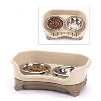 Neater Feeder Express - Mess Proof Pet Feeder with Stainless Steel Bowls