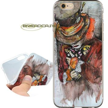 Fundas Alice in Wonderland for iPhone XS Max XR 10 7 8 6 6S Plus 5S 5 SE 5C 4S 4 iPod Touch 6 5 Clear Soft Silicone Phone Cases.