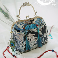 White Moon -The Ancient Chinese Dragons- Match Qi Lolita Bag