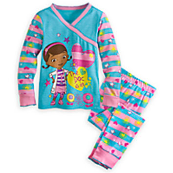 Doc McStuffins Kimono Top PJ Pal Set for Girls