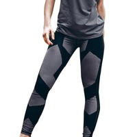 Patchwork Workout Leggings