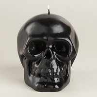 Bleeding Black Skull Candle | World Market