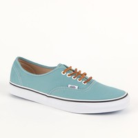 Vans Authentic Brushed Twill Shoe - Mens Shoes - Blue