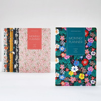 2016 Monthly Planner The Floral Softcover Journal Book