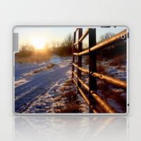 Winter on the Farm Laptop & iPad Skin by Trinity Bennett
