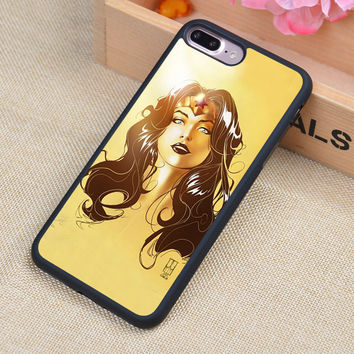 Wonder Woman Luxury Printed Soft Rubber Mobile Phone Cases Accessories For iPhone