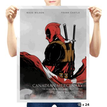 Canadian Mercenary Poster by pigboom