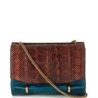 Le Marché snakeskin and leather shoulder bag | Nina Ricci | MATCHESFASHION.COM US