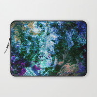 Face in wood abstract one Laptop Sleeve by minx267