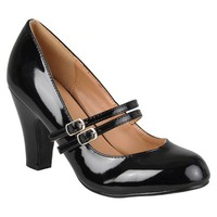 Journee Collection Women's Wide Width Mary Jane Pumps