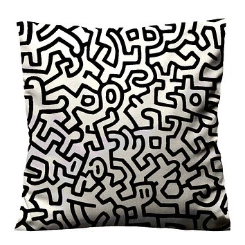 KEITH HARING DRAWING Cushion Case Cover
