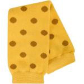 Babylegs Leg Warmers-Gold Dot