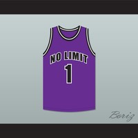 Master P 1 No Limit Purple Basketball Jersey