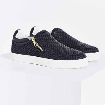 Ash Intense Snake Zip Slip-On Sneaker-
